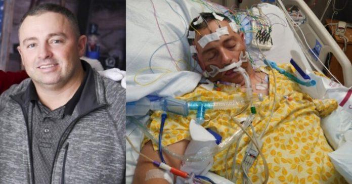 Flu shot lands man in hospital, unable to speak, walk, see ...